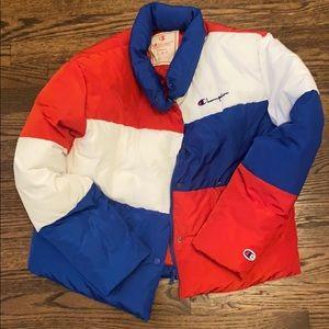 Champion puffer jacket